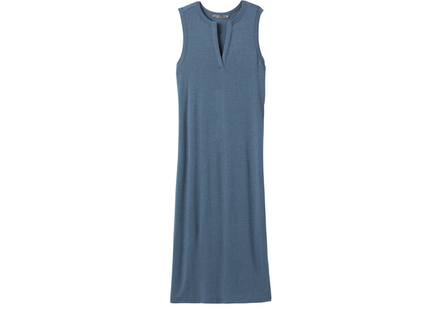 Prana Foundation Midi Dress Women nickel heather